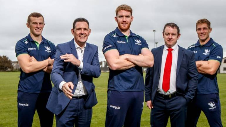Connacht Rugby and HC Financial extend partnership