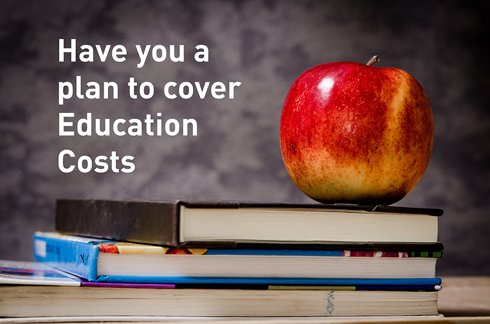 Cost of Education today – now is a good time to start saving